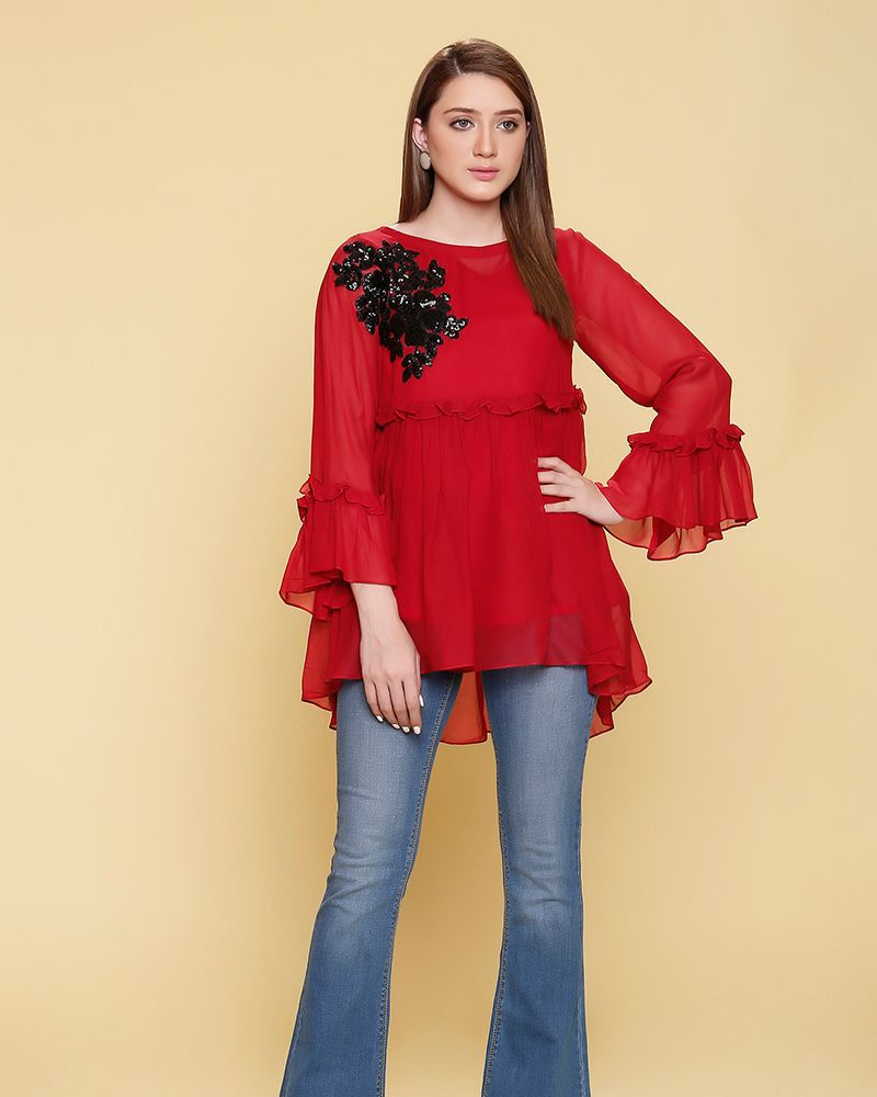 Latest Winter Shirts Designs Styles 2020 2021 Collection Winter Shirt Design Kurti Sleeves Design Kurta Style