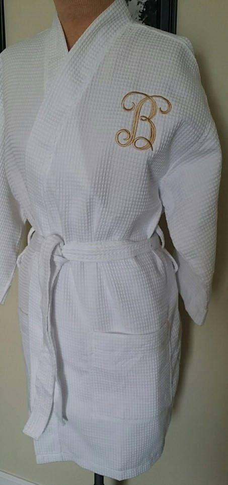 LONG Silk Satin Robe Personalized Bride Bridesmaid Dress Wedding Kimono  Bathrobe
