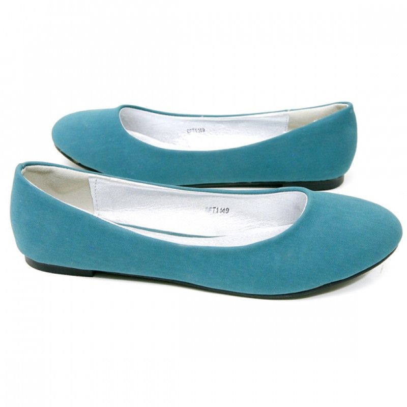 B.F.T. by Barefoot Tess 'Palm Springs' Flat (Teal)