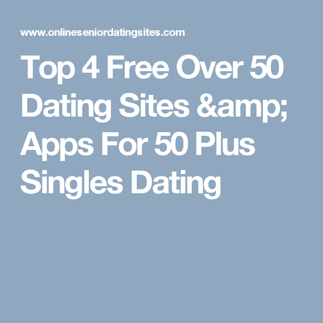 dating sites voor 55 plus