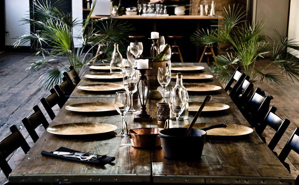 Fresh table from de Hidden Factory Barcelona