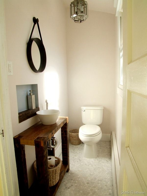Powder Room Decorating Ideas On A Budget Little Victorian
