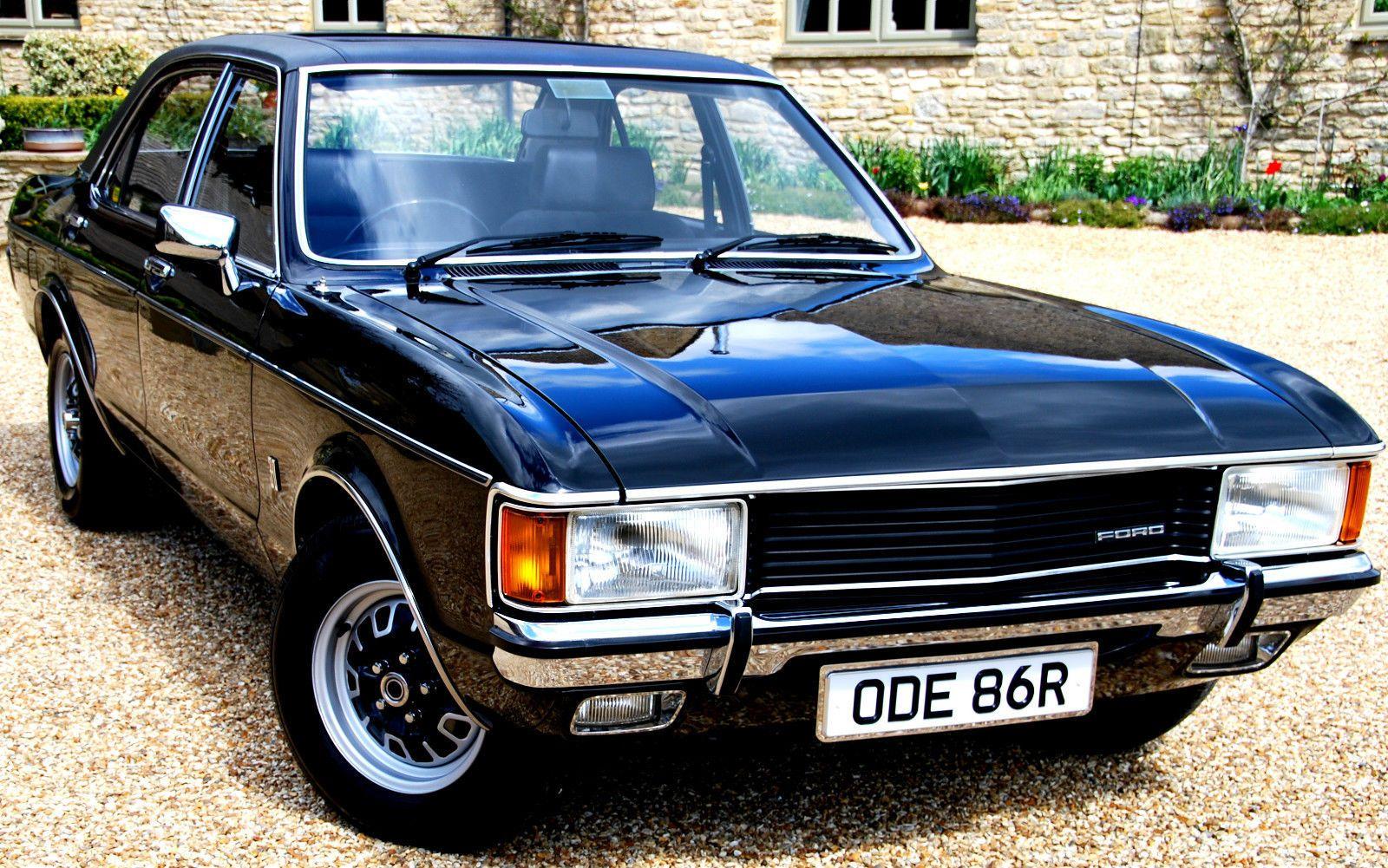 1977 Mk1 Ford Granada 3 0l Gl Auto Just 33 000 Miles Ford Granada Car Ford Classic Motors