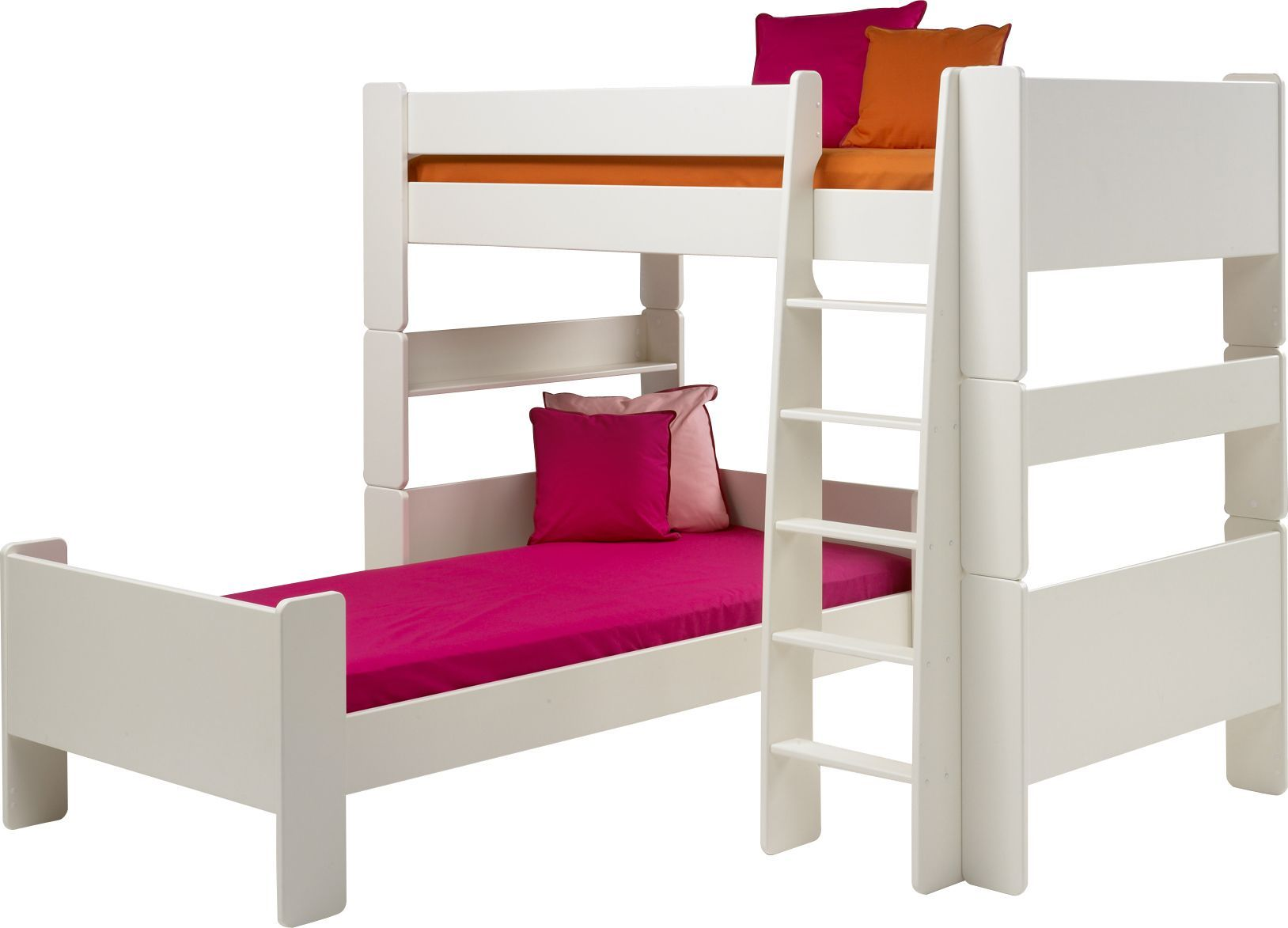 Corner twin loft bed   Interesting L Shaped Bunk Beds Design Ideas Youull Love  Pine