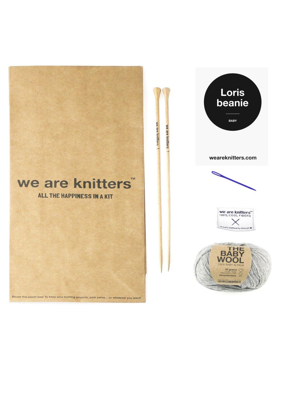 Loris Beanie - Mini WAK - Kits de tejer 84fade9fcc5