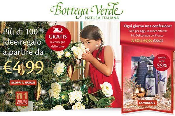 Idee Regalo Natale Da 5 Euro.Regali Di Natale Approfitta Delle Idee Regalo Di Bottega Verde Per