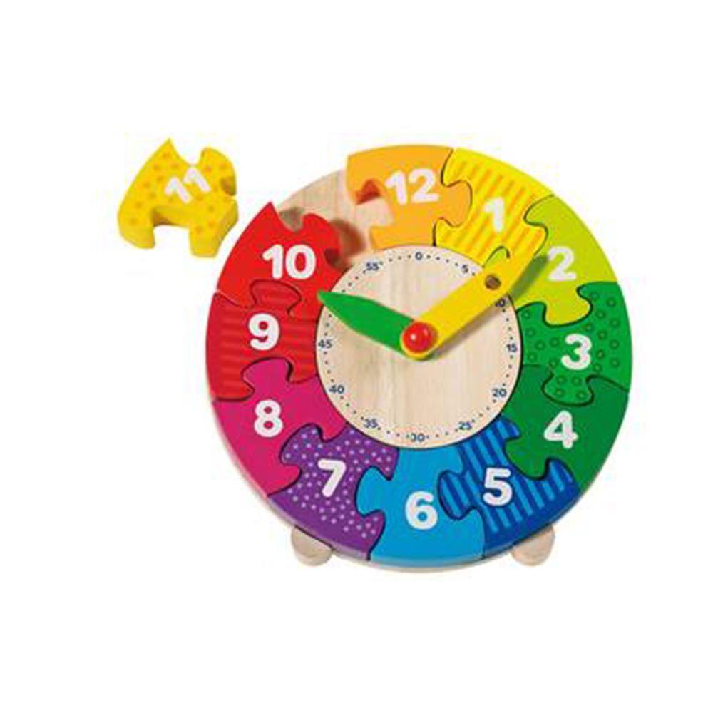 Puzzle Reloj Hogar Jard N Pinterest Reloj Juguetes Y Madera # Muebles Didacticos Para Ninos