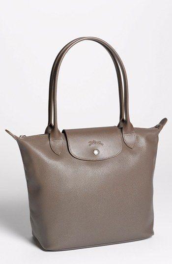 Longchamp 'Veau Foulonne' Leather Shoulder Bag (Nordstrom ...