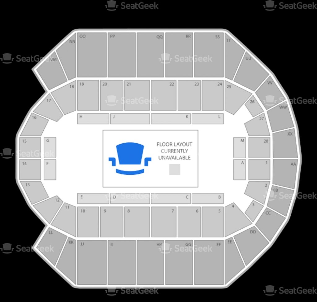 Oracle Arena Seating Chart 3d Oracle Arena Seating Charts Arena