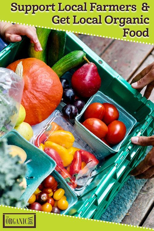 Support Local Farmers & Food Producers with The Organic ...