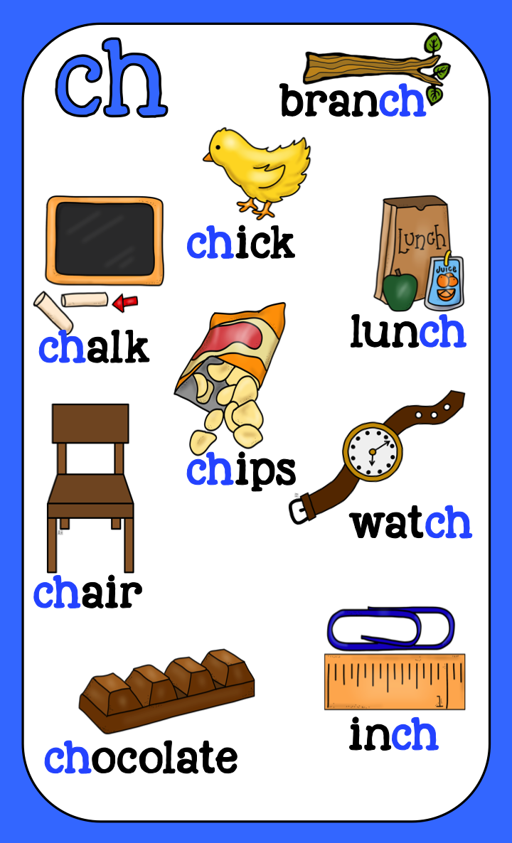 Digraph Posters English Phonics Teaching Phonics Learning English For Kids [ 1186 x 720 Pixel ]
