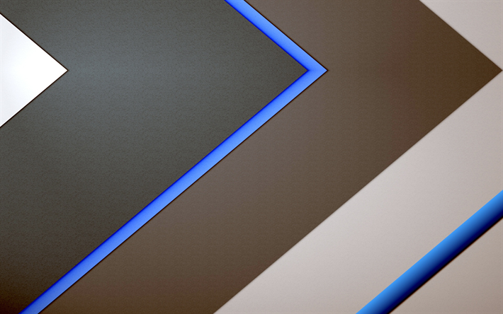 Download wallpapers material design, android, geometric ...