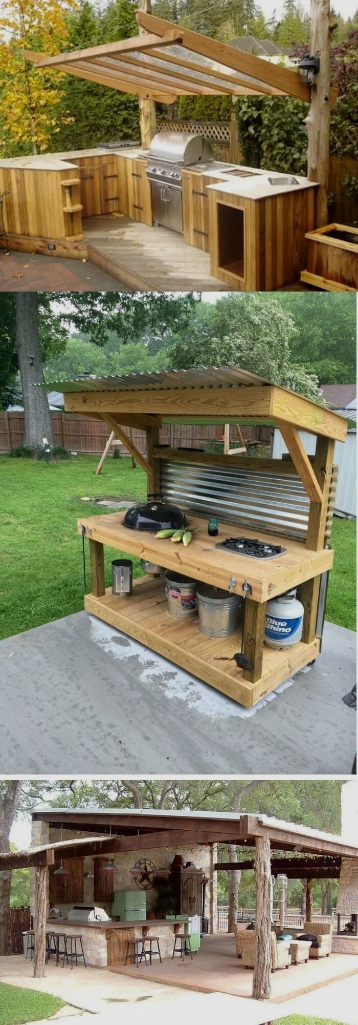 built in deck benches with storage in 2020 diy outdoor kitchen diy outdoor rustic outdoor on outdoor kitchen on deck id=58687