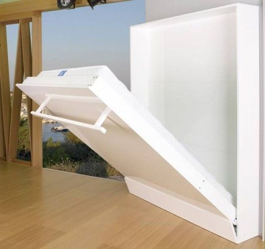 ideas de camas que se esconden en el techo pared o dentro de armarios camas abatibles camas. Black Bedroom Furniture Sets. Home Design Ideas