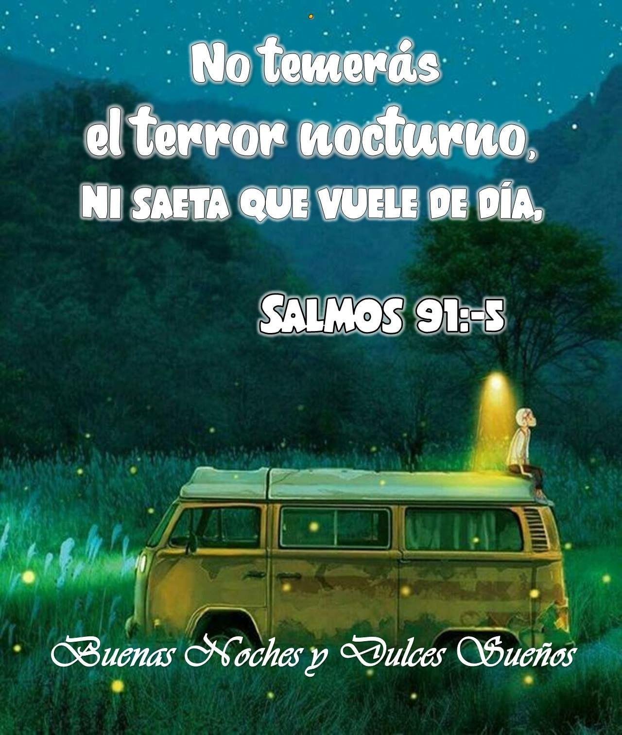 Salmos 91 5 Salmo 91 Salmos Terrores Nocturnos