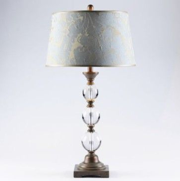 Kirklands Lamps Crystal Table Lamp Traditional Table Lamps