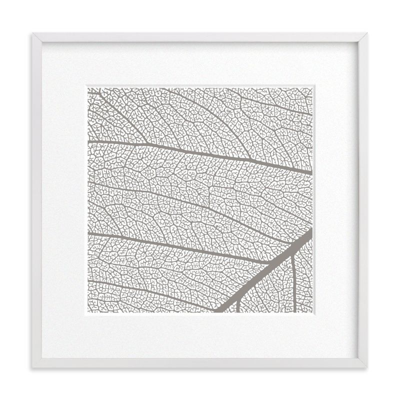 """""""Leaf"""" - Art Print by Stellax Creative in beautiful frame options and a variety…"""