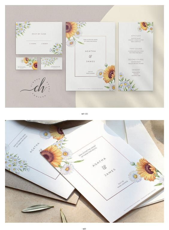 Amber is a watercolor sunflower & chamomile themed wedding printable pack. Everything is fully editable, both the invitation and the save the date templates have ample space to include all the necessary info for your wedding #sponsored #WeddingPaper #WeddingCards #WeddingInvitationCards #HandmadeWedding #WeddingStationary #OriginalWeddingInvitations #DiyWeddingCards #UniqueWeddings #DiyInvitations #WeddingInvitationIdeas #InvitationCards #HandmadeWeddingInvitations #WeddingStationery