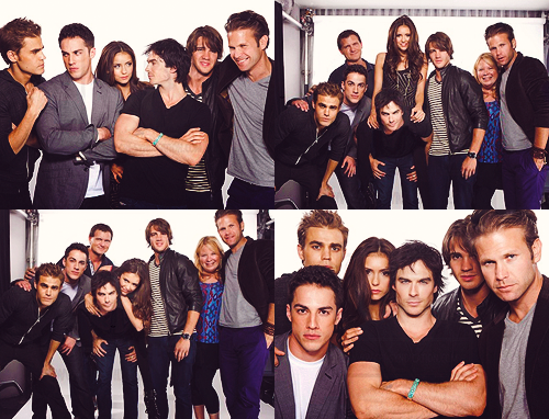 The hottest cast on tv ;)  I can't wait for October!