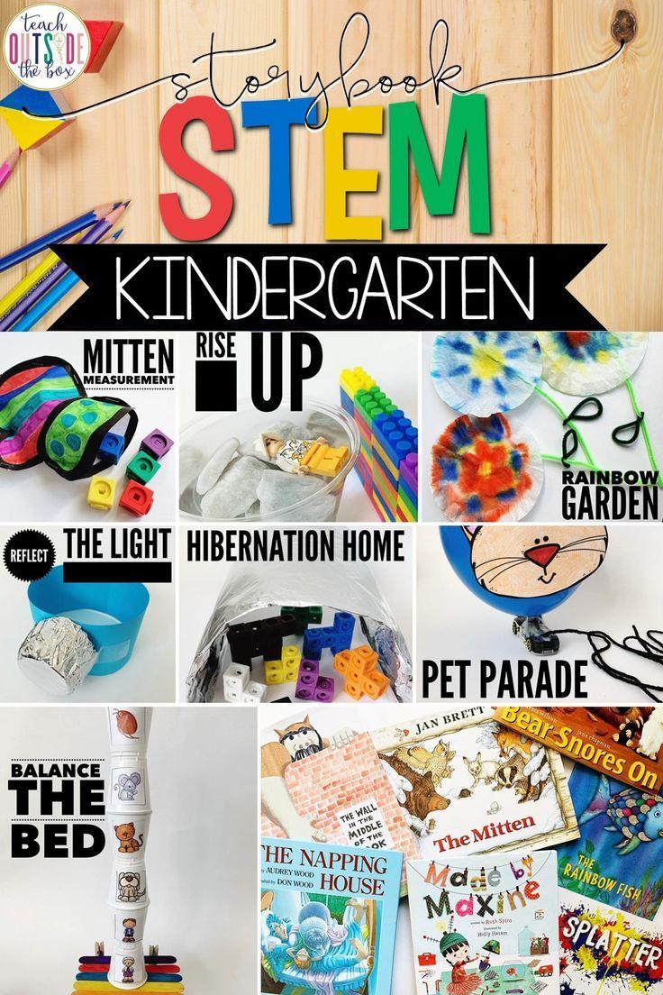 Kindergarten Storybook STEM {BUNDLE} #stemactivitieselementary