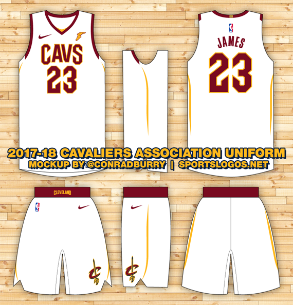 3258f6c1687 Apparent New Cavs Nike Uniform Leaked | Chris Creamer's SportsLogos.Net  News and Blog : New Logos and New Uniforms news, photos, and rumours