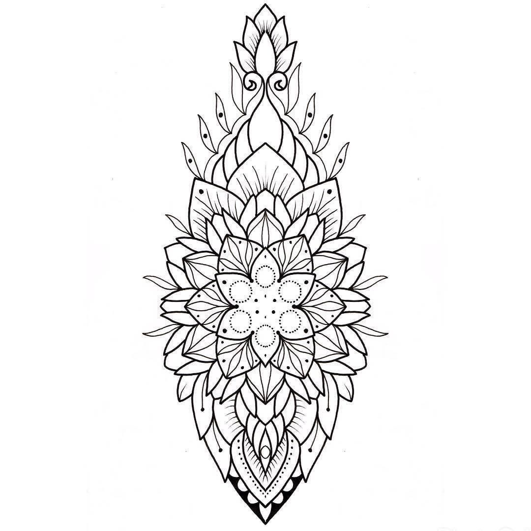 2 023 Likes 2 Comments Flash Addicted Flash Addicted On Instagram By Lamethmoon Send Yours To Flash Mandala Tattoo Design Mandala Tattoo Tattoos