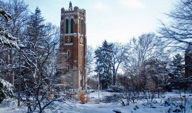 Michigan State urging fans attending Tuesday's game vs Ohio State to take  weather-related precautions | Michigan state university campus, University  of michigan campus, Michigan state university