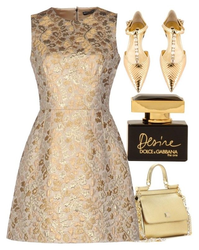 """""""D&G"""" by alongcametwiggy ❤ liked on Polyvore featuring Dolce&Gabbana"""