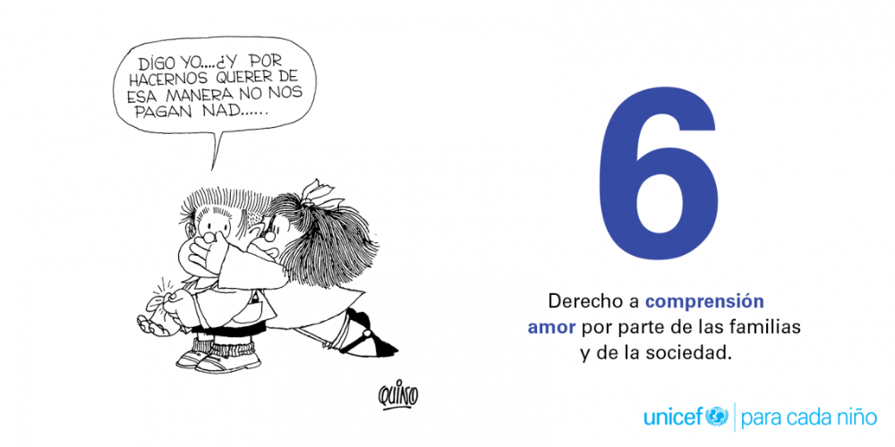 10 Derechos Fundamentales De Los Niños Por Quino Unicef América Latina Y El Caribe Derechos De Los Niños 10 Derechos Derechos De La Infancia