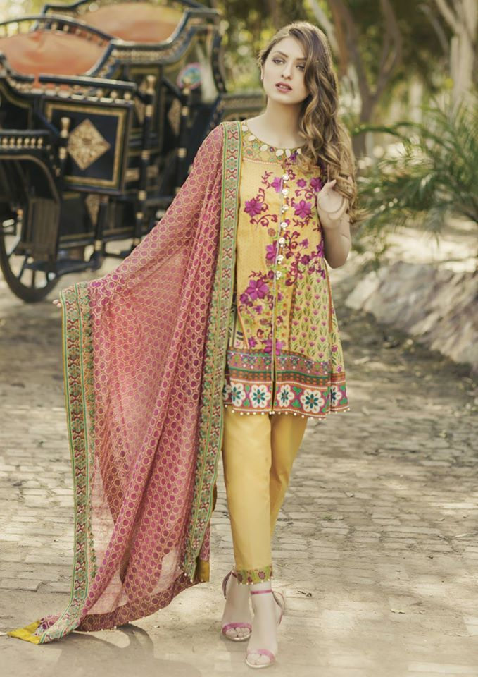 66af59973 Alkaram Summer Lawn Designs Latest Suits Collection 2017-2018
