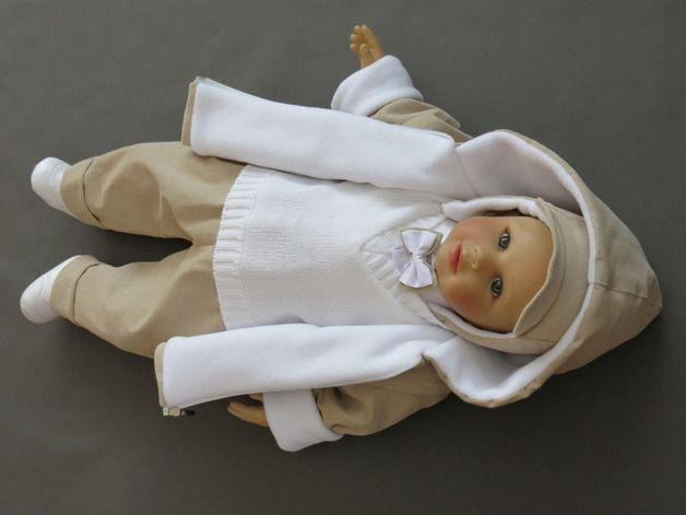Wollen Sie Ihren Jungen In Weiss Bege Zur Taufe Anziehen