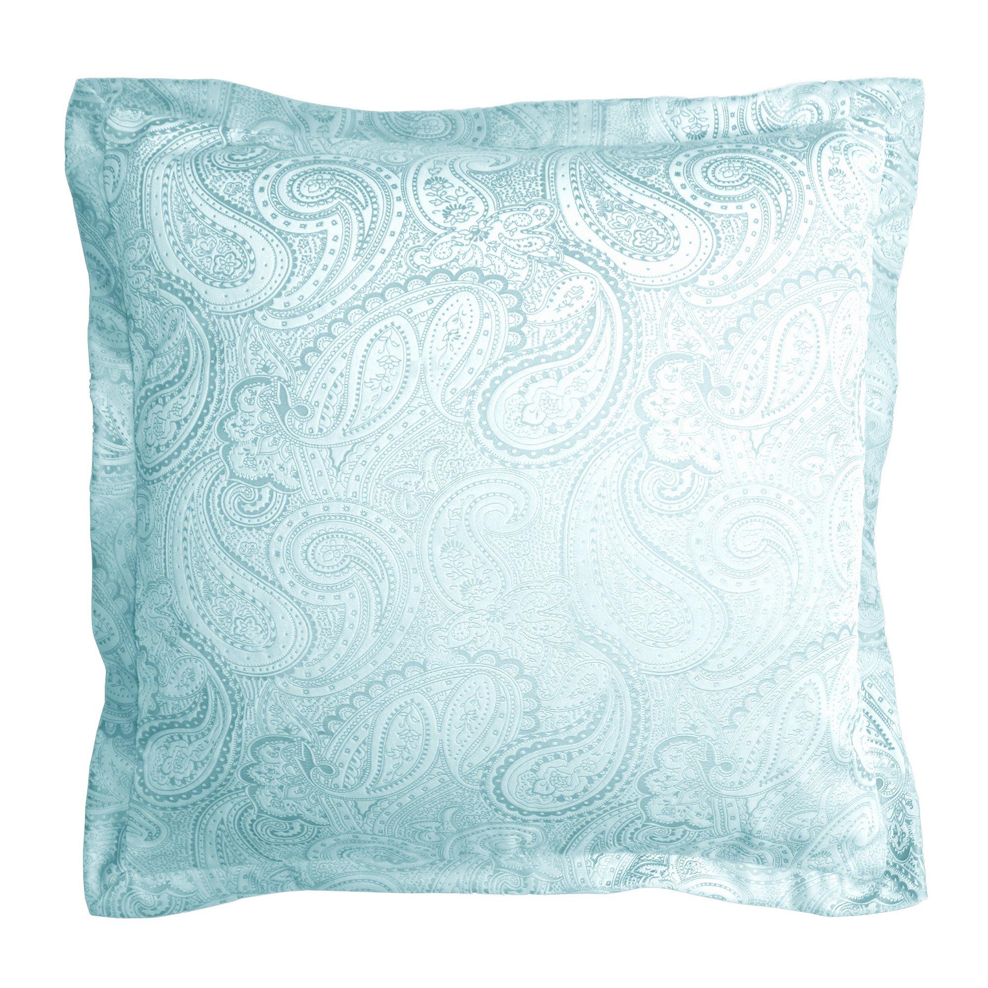 Paisley Velvet Decorative Pillow