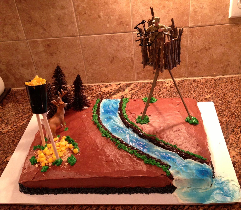 Deer hunting Birthday Cake My Creations Pinterest Deer