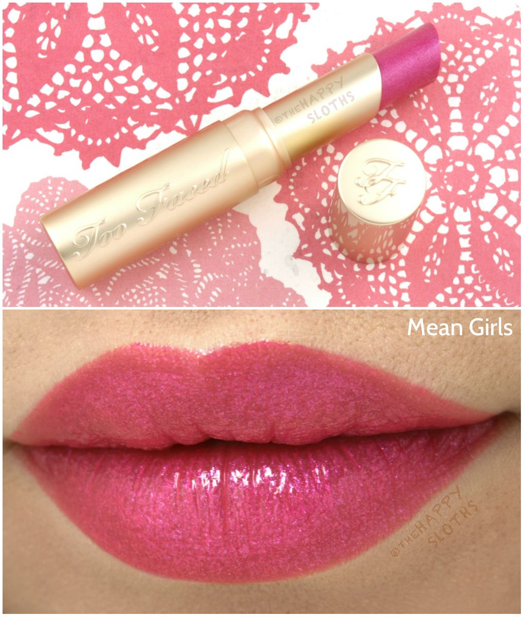 NEW Spring 2016 Too Faced Le Creme Lipstick Shades Review