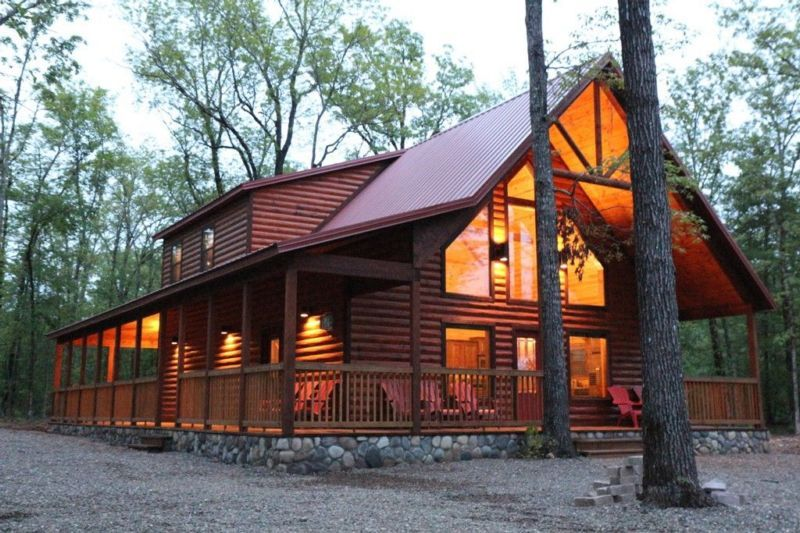 Uncle Buck S Lodge Near Broken Bow Lake With Images Cabin Lake Cabins Broken Bow Lake