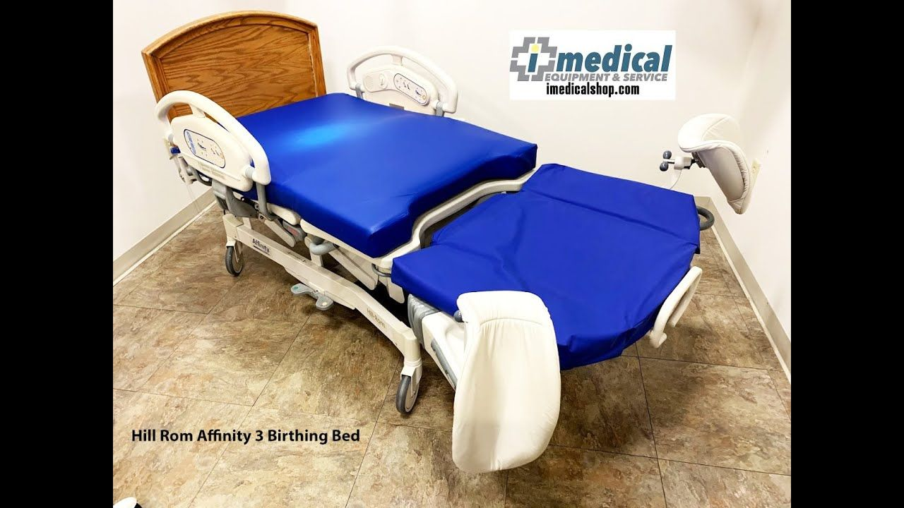Hill Rom Affinity 3 Birthing Bed 8582634894 www