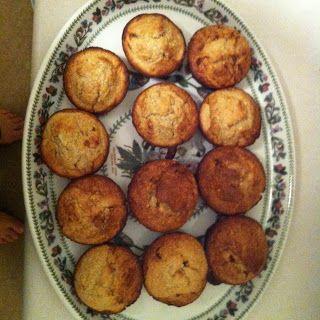 Flourless Banana Oat Muffins
