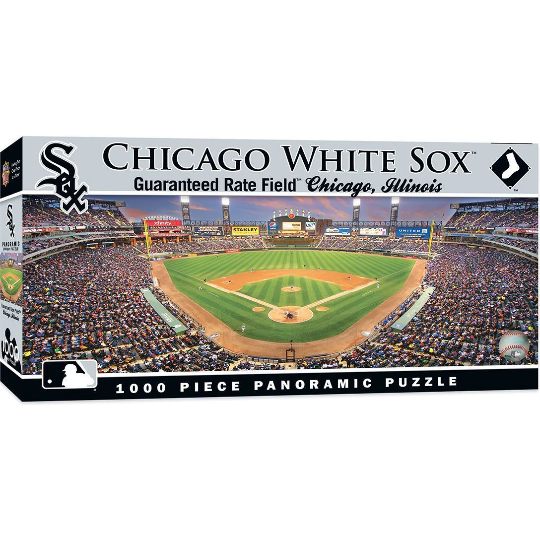 Guaranteed Rate Field Chicago White Sox 1000pc Panoramic Puzzle Br Easter Possible But Not Guaranteed In 2020 Chicago White Sox Chicago Baseball Stadium