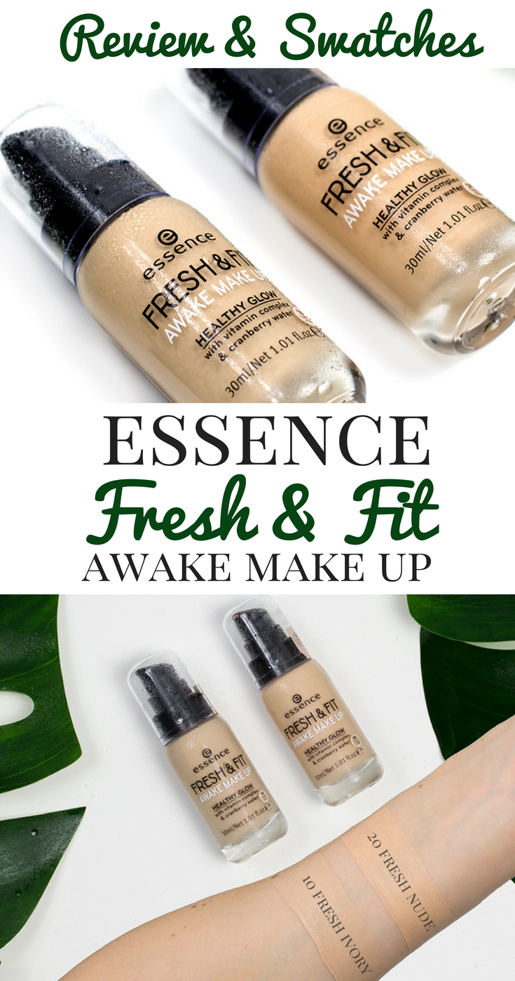 Essence Fresh Fit Awake Make Up Schminkzeug, Make up und