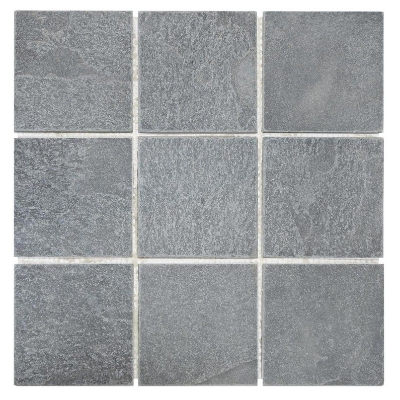Mosaique Sol Et Mur Brazil Noir 10 X 10 Cm Sol Et Mur Mur Et
