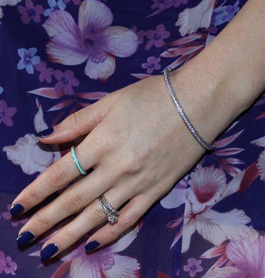 43e7281d1 Purple Radiant Hearts of PANDORA Bangle | Fashion | Pandora bangle ...