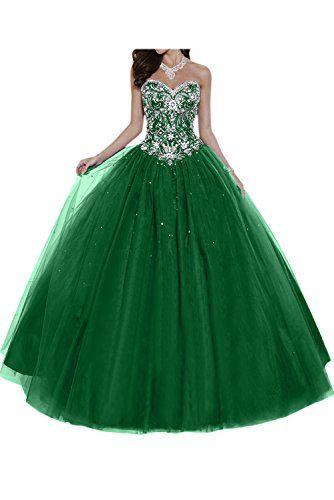 Gorgeous Bride Elegant Herzform Lang A Linie Ballon Tuell Satin Abendkleider Festkleid Ballkleid Amazon De Bekleidung Kleider Schone Kleider Abendkleid