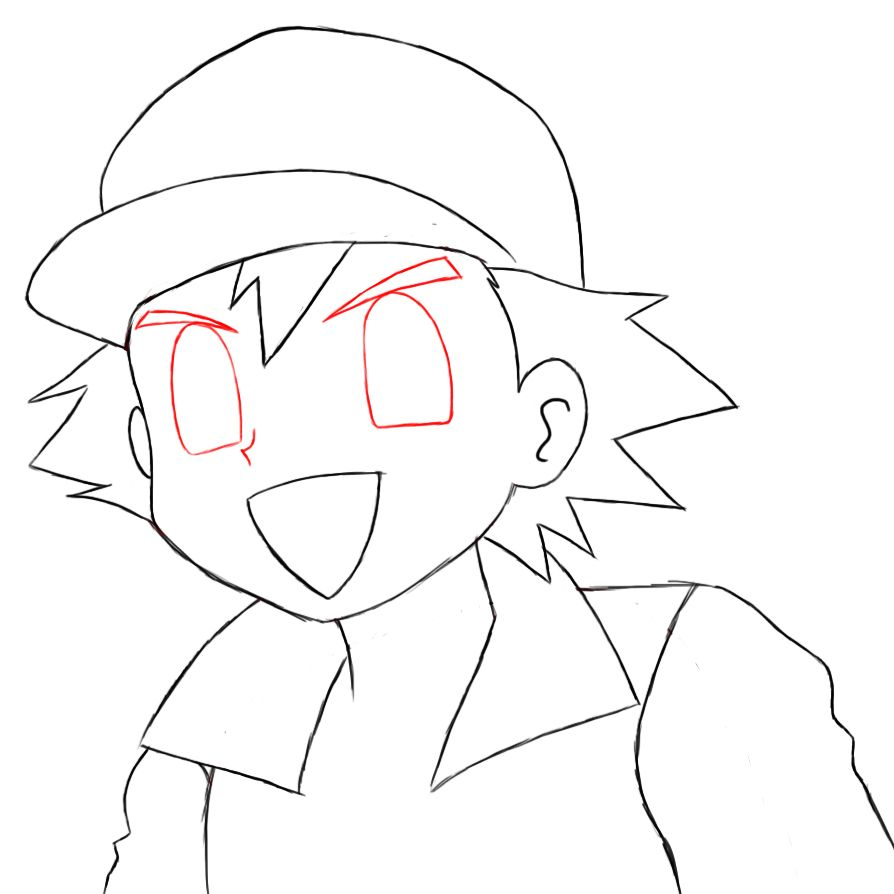 Uncategorized How To Draw Ash From Pokemon how to draw ash ketchum and ketchum