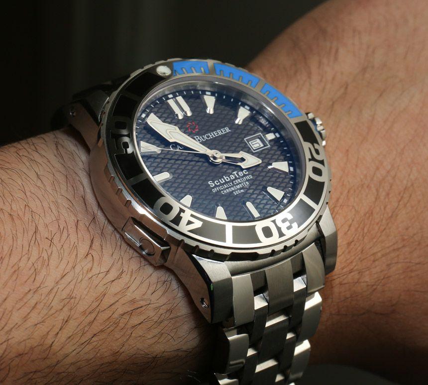Carl F. Bucherer Patravi ScubaTec Dive Watch HandsOn