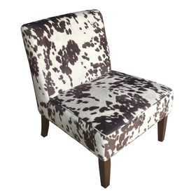 Picture Of Slipper Chair   Brown