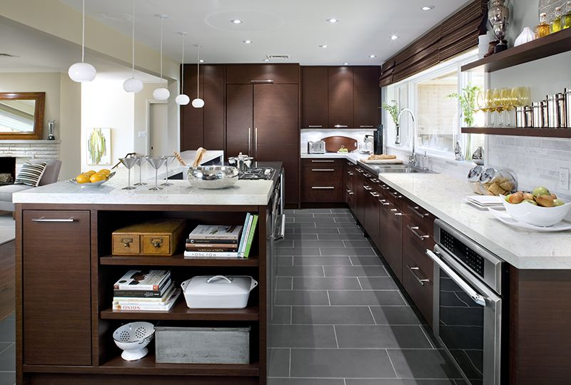 Modern Kitchen Quartz Countertops viatera | cirrus | timeless modern kitchen ideas #quartz