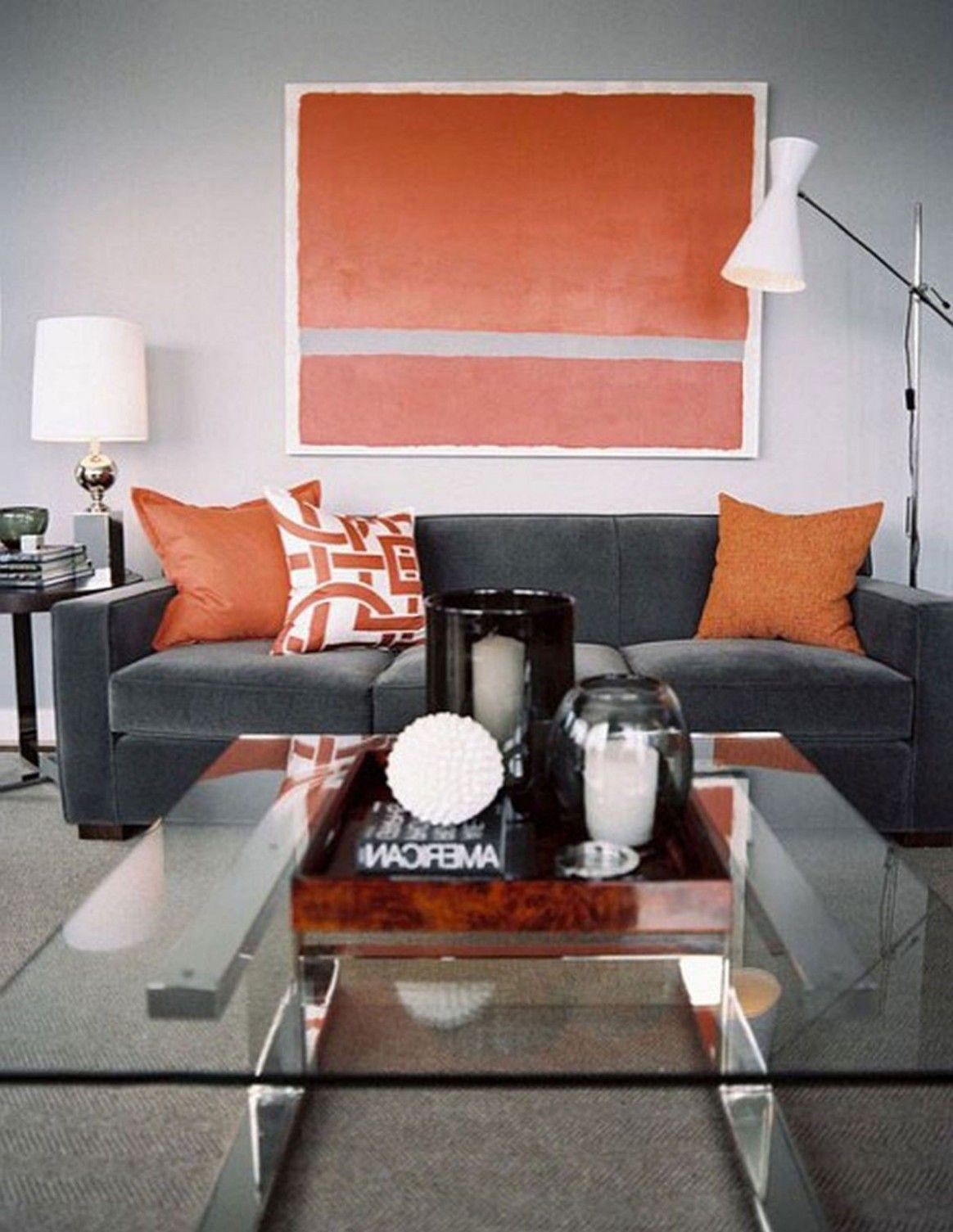 Burnt Orange And Grey Living Room Burnt Orange Living
