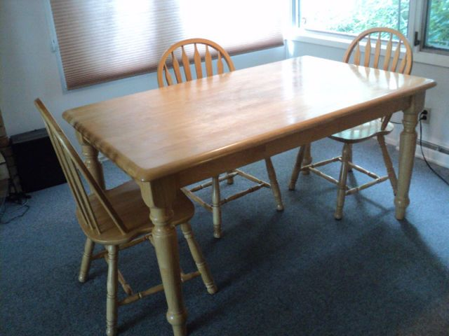 Kitchen Table And Three Chairs Dining Tables And Sets Winnipeg