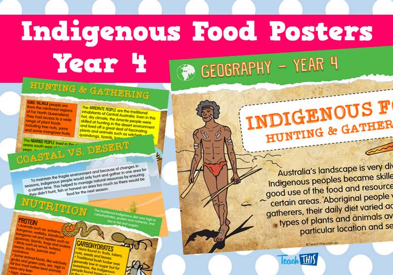 Indigenous Food Posters - Year 4 | 4 teachers | Pinterest | Food ...