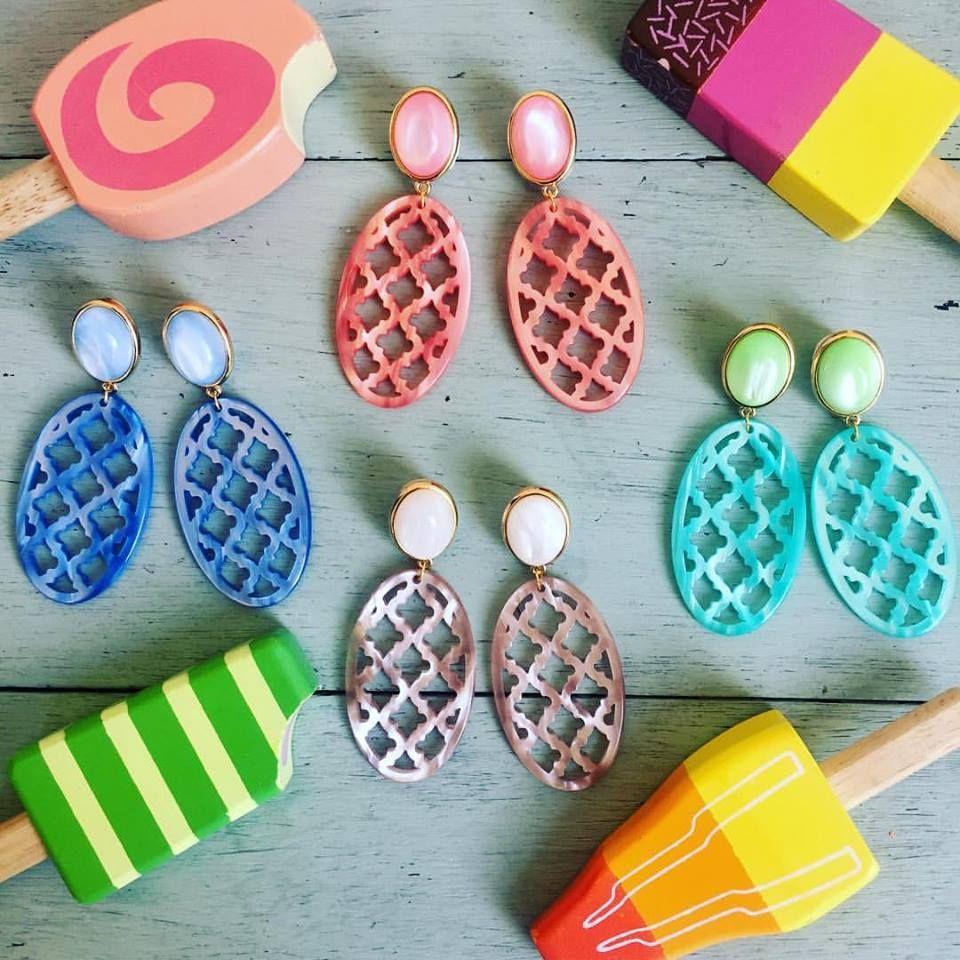 Summertime! Die neue Ohrringkollektion von Schwester Schwester.